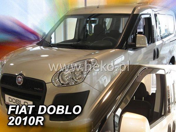 Ветровики FIAT Doblo II (2010-) HEKO