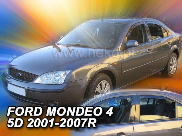 Ветровики FORD Mondeo III (2000-2007) SD/HB HEKO