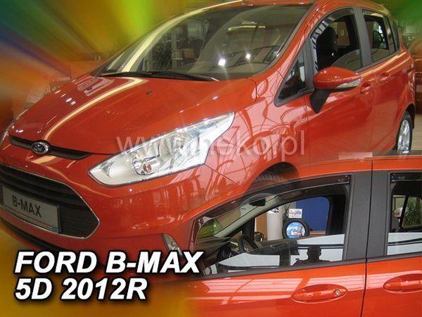 Ветровики FORD B-Max (2012-) 5D HEKO