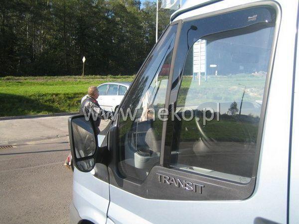 Ветровики FORD Transit (2006-2013) HEKO