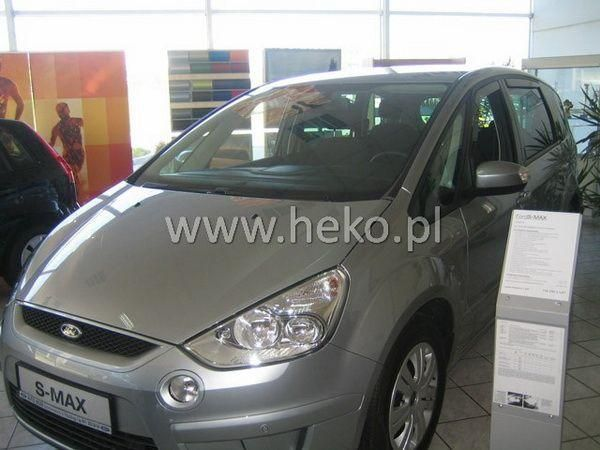 Ветровики FORD S-Max (2006-2010) 5D HEKO