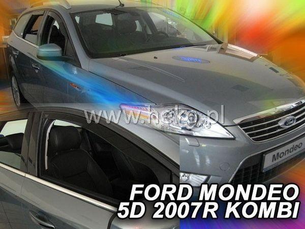 Дефлекторы окон FORD Mondeo IV (07-13) Combi HEKO