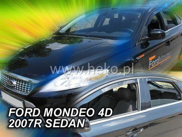 Ветровики FORD Mondeo IV / Mk4 Sedan / Liftback - HEKO 1