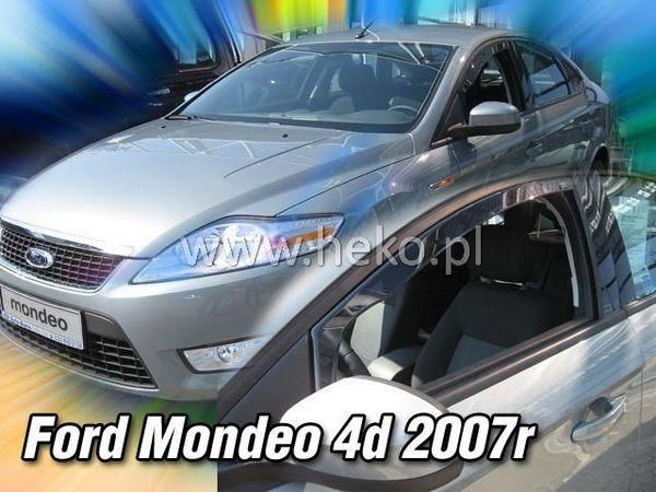 Ветровики FORD Mondeo IV / Mk4 Sedan / Liftback - HEKO 2