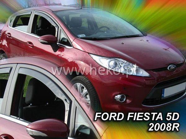 Ветровики FORD Fiesta Mk7 (2009-) 3D HEKO
