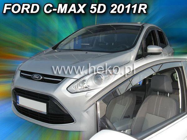 Ветровики FORD C-Max II (2010-) 5D HEKO