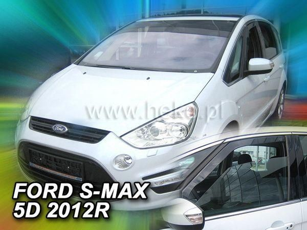 Ветровики FORD S-Max (2010)- 5D HEKO