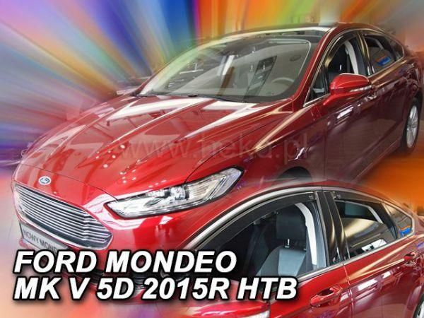 Ветровики FORD Mondeo Mk5 Liftback / Sedan - Heko задние
