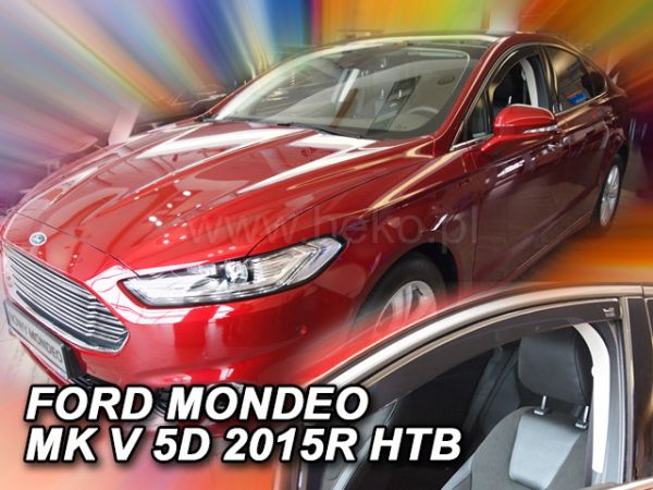 Ветровики FORD Mondeo Mk5 Liftback / Sedan - Heko передние