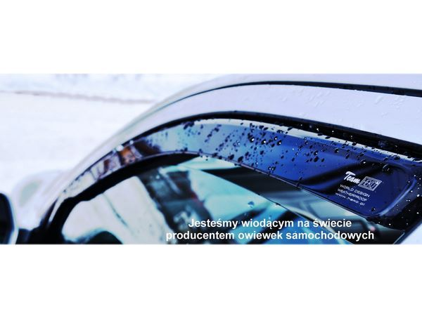 Ветровики FORD Fiesta Mk8 5D Hatchback - Heko 1
