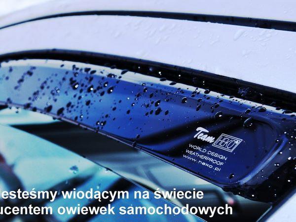 Ветровики FORD Fiesta Mk8 5D Hatchback - Heko 2