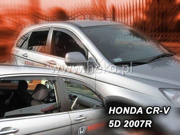 Ветровики HONDA CR-V III (2007-2012) 5D HEKO