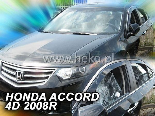 Ветровики HONDA Accord VIII (2008-) Sedan HEKO