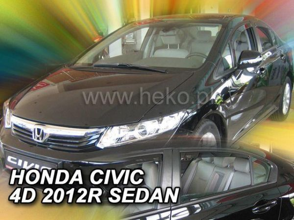 Ветровики HONDA Civic IX (2012-) Sedan HEKO