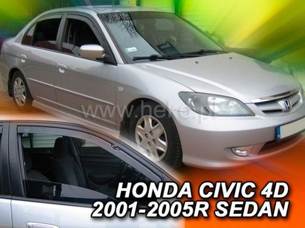 Ветровики HONDA Civic 7/VII (2001-2005) Sedan HEKO