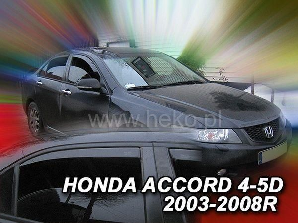 Ветровики HONDA Accord VII (2002-2008) Sedan HEKO
