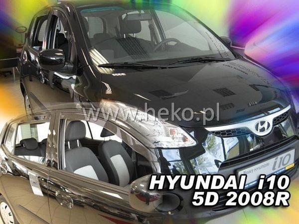 Ветровики HYUNDAI i10 I (2008-2013) HEKO