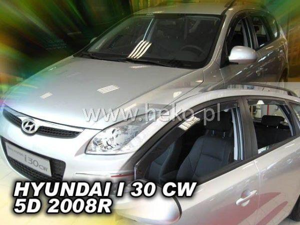 Ветровики HYUNDAI i30 FD (2008-2012) Combi HEKO