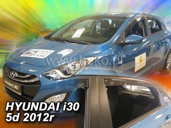Ветровики HYUNDAI i30 GD (2012-) Hatchback HEKO