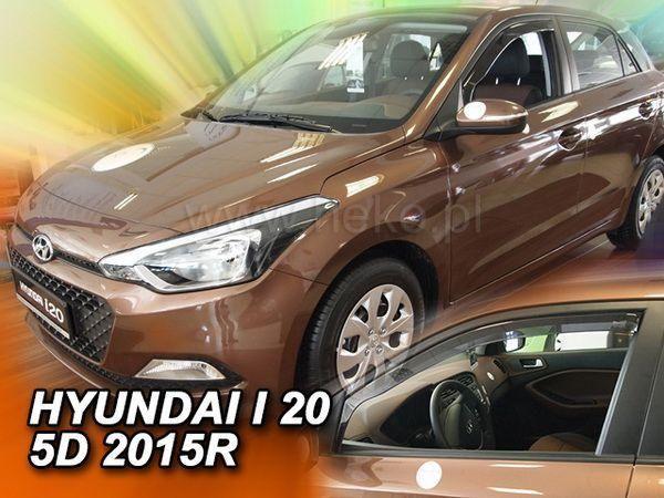 Ветровики HYUNDAI i20 II (2014-) 5D HB HEKO