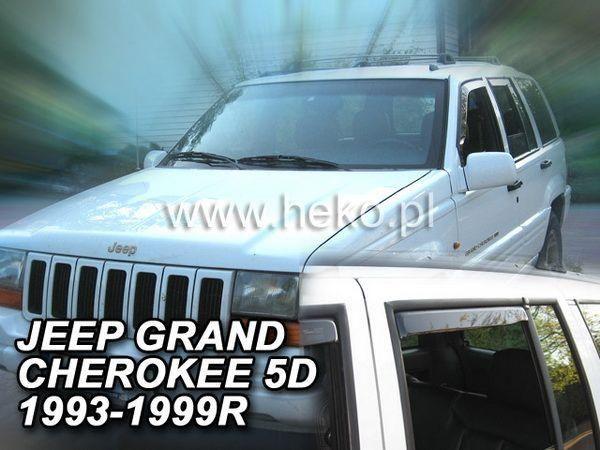 Ветровики JEEP Grand Cherokee ZJ (1993-1998) HEKO
