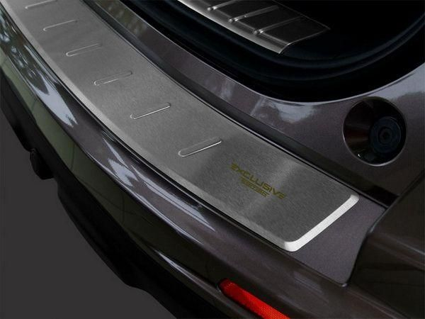 Накладка на бампер (сталь, Польша) HONDA CR-V III (2010-2012)