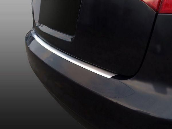 Накладка на бампер (сталь, Польша) AUDI A6 C6 4F Avant