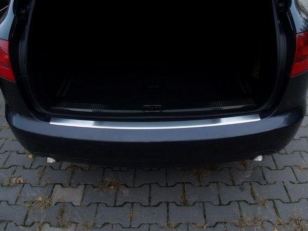 Накладка на бампер (сталь, Польша) AUDI A6 C6 4F Avant 3