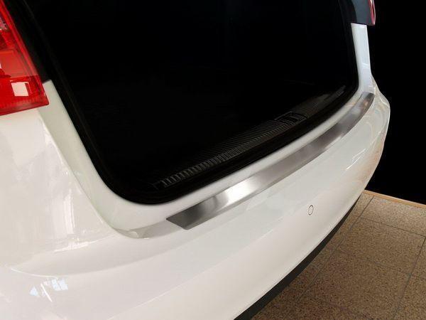 Защитная накладка на задний бампер AUDI A6 C7 Avant - фото 3