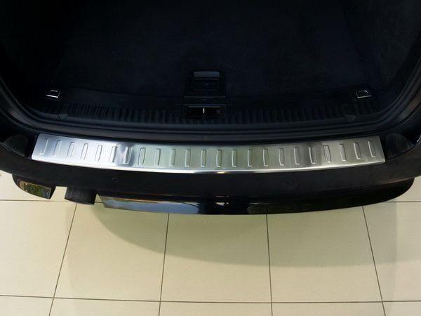 Накладка бампера (сталь, Польша) BMW 5 E61 (07-10) Touring