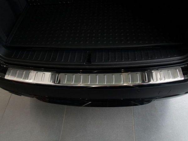 Накладка заднего бампера (сталь, Польша) BMW X3 F25 (11-14) - фото #2