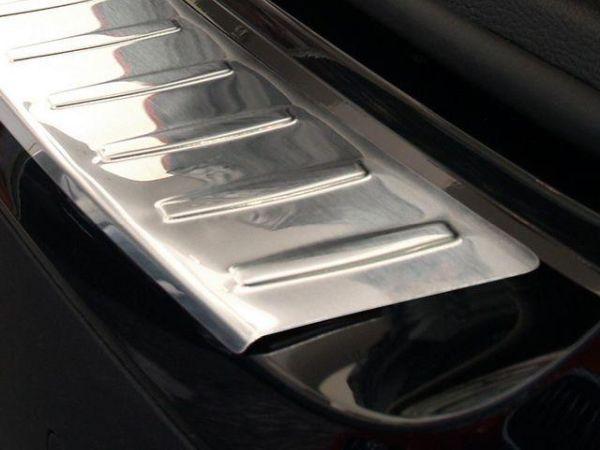 Накладка заднего бампера (сталь, Польша) BMW X3 F25 (11-14) - фото #3
