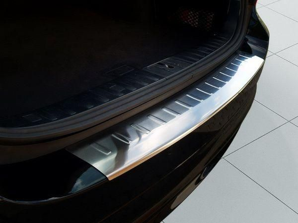 Накладка бампера (сталь, Польша) BMW E91 (2008-2012) Touring
