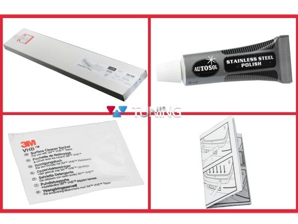 Накладка на задний бампер MERCEDES Citan W415 - Польша - монтажный комплект
