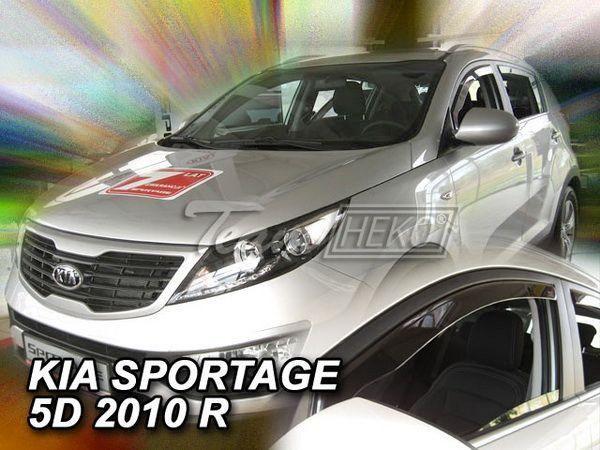 Ветровики KIA Sportage II (2004-2010) 5D HEKO
