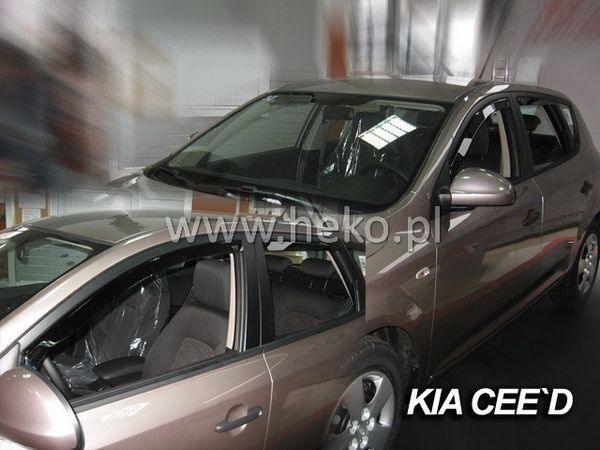 Ветровики KIA Ceed I (2006-2012) 5D HEKO