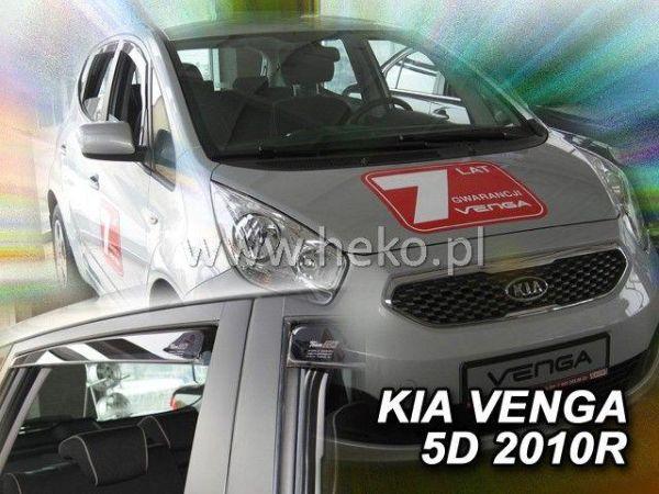 Ветровики KIA Venga (2010-) 5D HEKO
