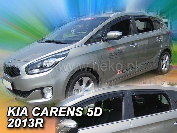 Ветровики KIA Carens III (2013-) 5D HEKO