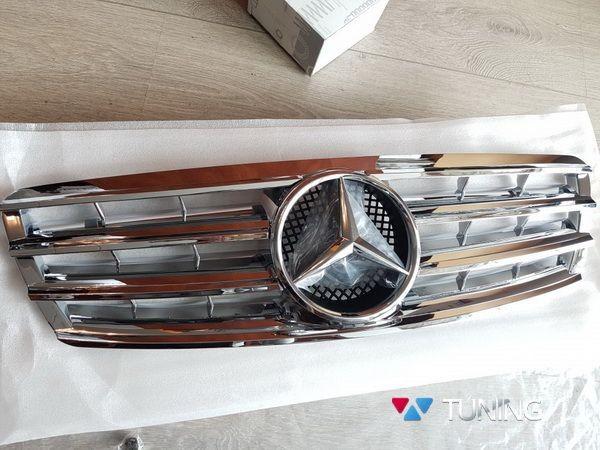 Решётка радиатора MERCEDES W203 - хром CL стиль 3