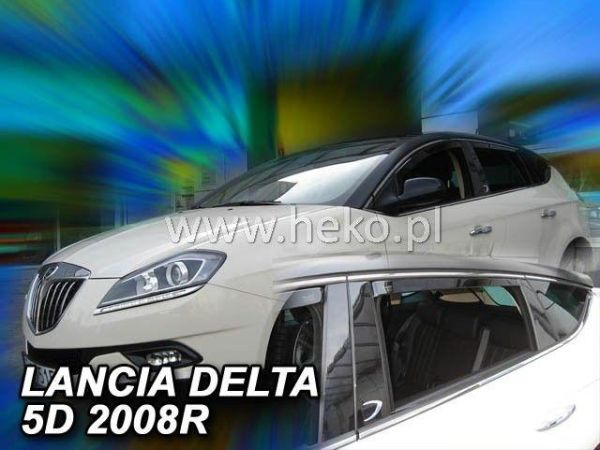Ветровики LANCIA Delta III (2008-2014) 5D HEKO