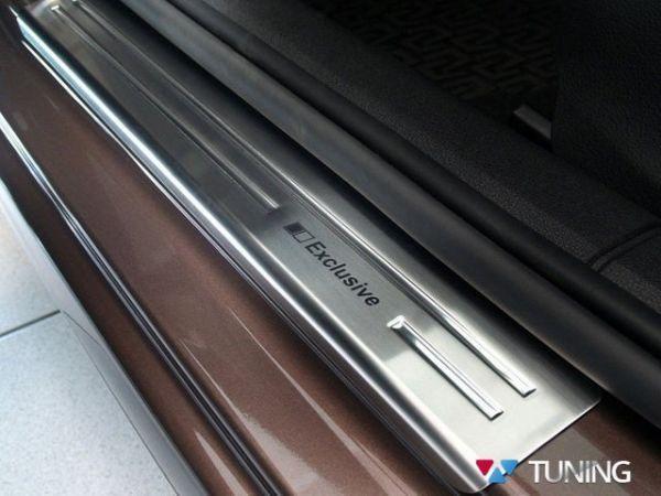 Накладки на дверные пороги SKODA Octavia III A7 - Польша