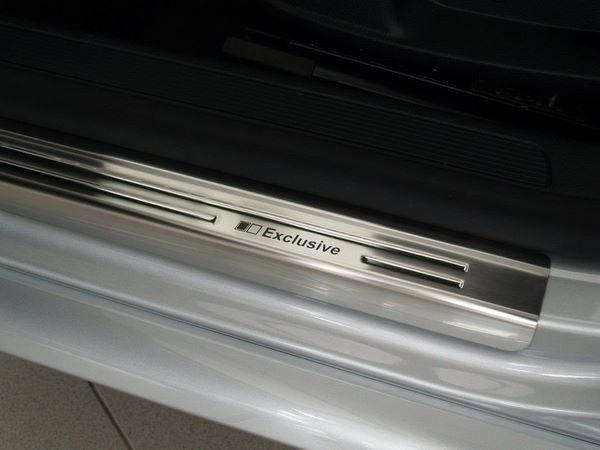 Стальные накладки на пороги VW Passat B7 Польша