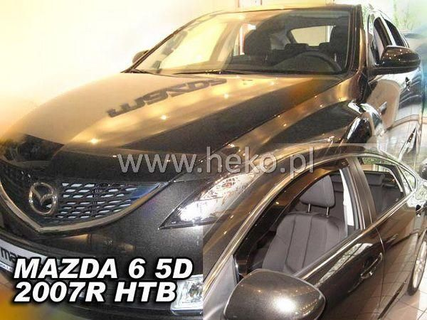 Ветровики MAZDA 6 II GH (2007-2012) Hatchback HEKO
