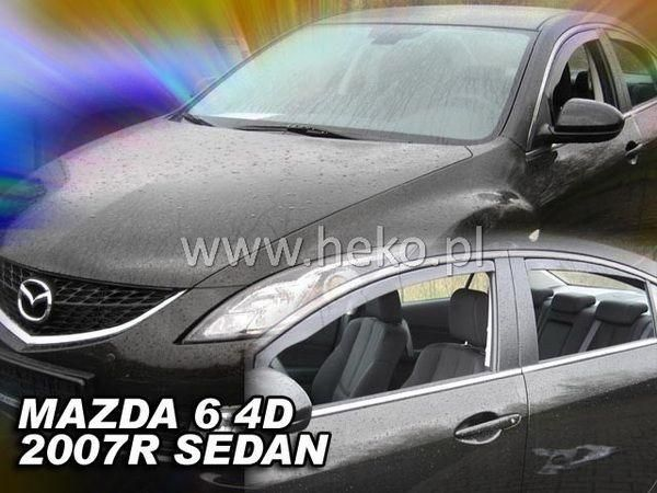 Ветровики MAZDA 6 II GH (2007-2012) Sedan HEKO