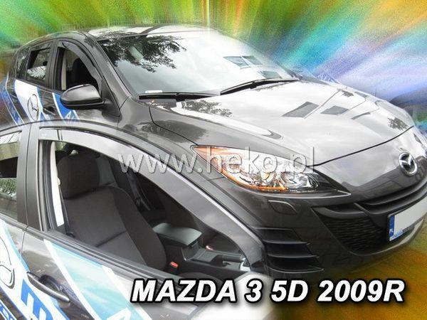Ветровики MAZDA 3 (BL) (2009-2013) 5D HB HEKO