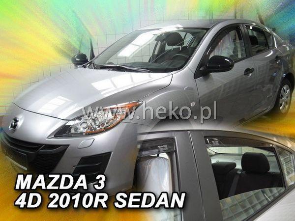 Ветровики MAZDA 3 (BL) (2009-2013) Sedan HEKO