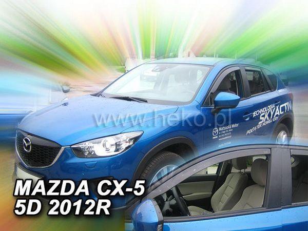 Ветровики MAZDA CX-5 (2012-2016) HEKO