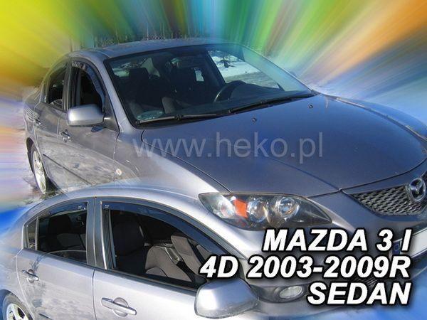 Ветровики MAZDA 3 I (2003-2009) Sedan HEKO