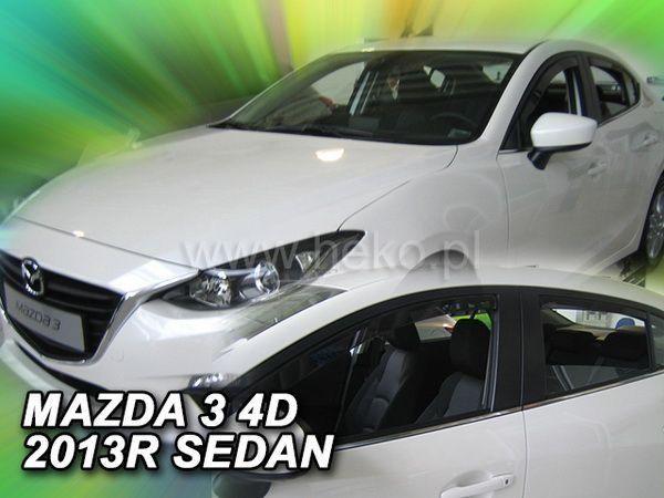 Ветровики MAZDA 3 (BM) (2013-) Sedan HEKO