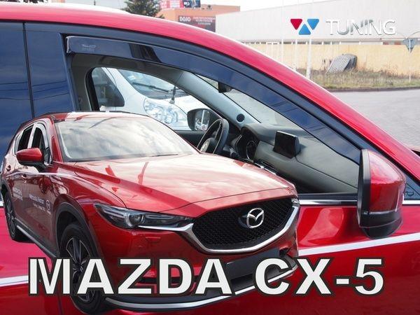 Дефлекторы окон MAZDA CX-5 II (2017+) - Heko 1